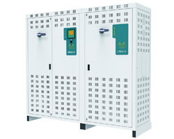 Low Voltage banks with Thyristors and filters